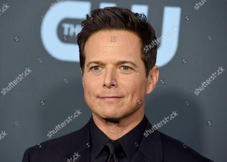 Scott Wolf arrives at the 25th annual Critics' Choice Awards, at the Barker Hangar in Santa Monica, Calif