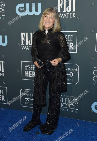 Stock Picture of Mimi Kennedy arrives at the 25th annual Critics' Choice Awards, at the Barker Hangar in Santa Monica, Calif