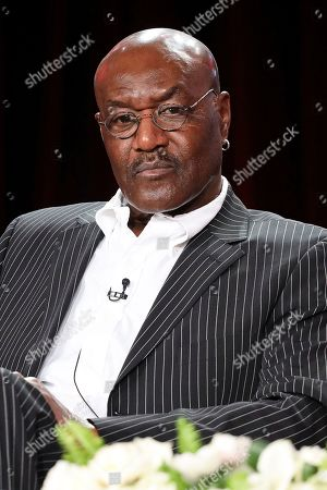 """Delroy Lindo attends the """"The Good Fight"""" panel during the CBS TCA Winter 2020 Press Tour at the Langham Huntington Hotel, in Pasadena, Calif"""