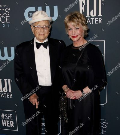 Stock Image of Norman Lear and Lyn Lear