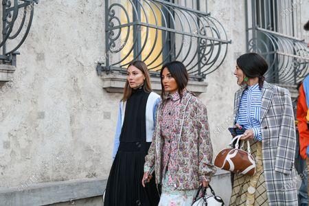 Giorgia Tordini, Amina Muaddi, Gilda Ambrosio