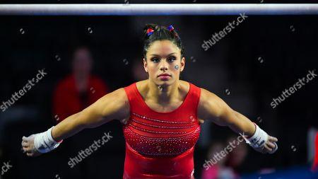 Editorial image of ALSU Georgia Women's Gymnastics, Athens, USA - 10 Jan 2020