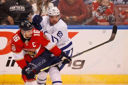 Editorial photo of Maple Leafs Panthers Hockey, Sunrise, USA - 12 Jan 2020
