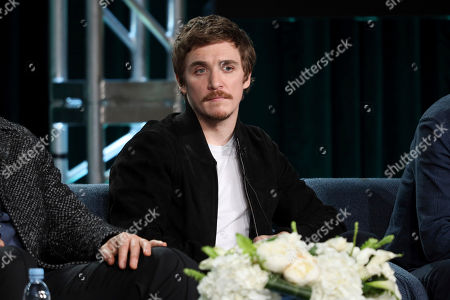 "Kyle Gallner speaks at the ""Interrogation"" panel during the CBS TCA Winter 2020 Press Tour at the Langham Huntington Hotel, in Pasadena, Calif"