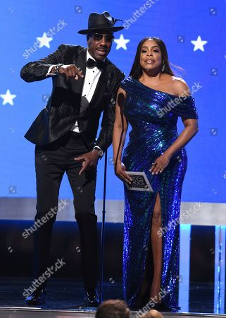 J.B. Smoove, Niecy Nash. J.B. Smoove, left, and Niecy Nash present the award for best comedy special at the 25th annual Critics' Choice Awards, at the Barker Hangar in Santa Monica, Calif