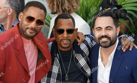 Stock Picture of Will Smith, Martin Lawrence and Enrique Santos