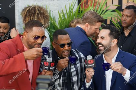 Stock Photo of Will Smith, Martin Lawrence and Enrique Santos
