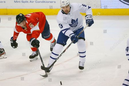 Editorial picture of Maple Leafs Panthers Hockey, Sunrise, USA - 12 Jan 2020