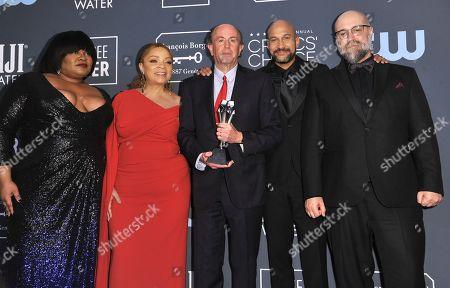 Editorial image of 25th Annual Critics' Choice Awards - Press Room, Santa Monica, USA - 12 Jan 2020