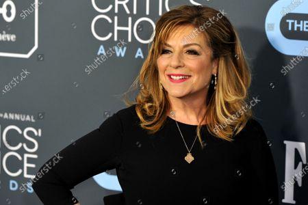 Caroline Aaron attends the 25th Critics' Choice Awards in Santa Monica, California, USA, 12 January 2020.