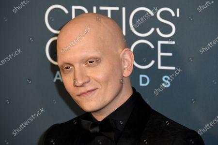 Anthony Carrigan attends the 25th Critics' Choice Awards in Santa Monica, California, USA, 12 January 2020.