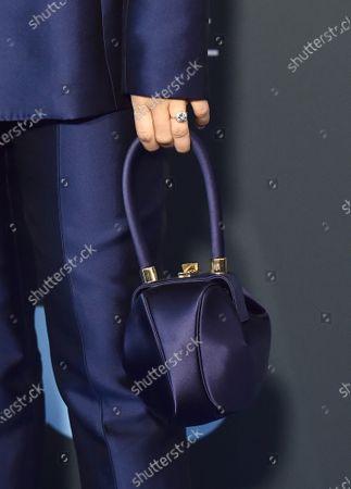 Aimee Carrero, bag detail
