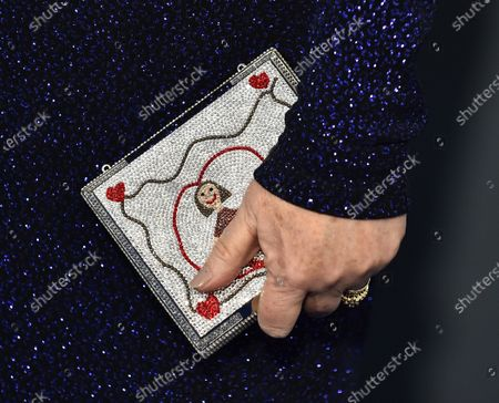 Stock Picture of Beth Hall, bag detail