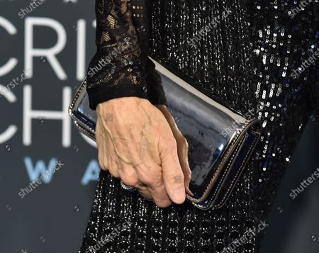 Stock Image of Mimi Kennedy, bag detail