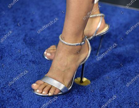 Karen Fukuhara, shoe detail