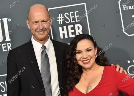 Stock Photo of Mike Royce and Gloria Calderon Kellet