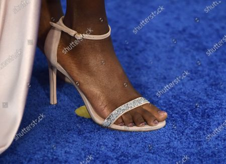Ashleigh Murray, shoe detail