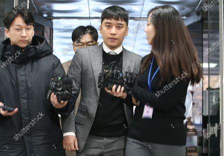 Editorial image of Court to decide on arrest warrant for K-pop singer Seungri in Seoul, Korea - 13 Jan 2020