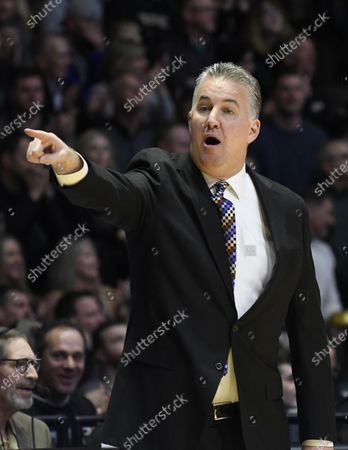 West Lafayette, Indiana, USA; Purdue Boilermakers head coach Matt Painter in the first half of a basketball game between the Michigan State Spartans and the Purdue Boilermakers at Mackey Arena. Mandatory Credit: Sandra Dukes-CSM