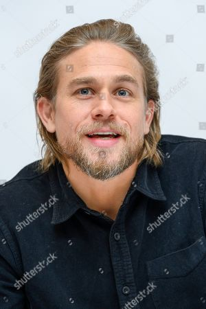 Stock Image of Charlie Hunnam