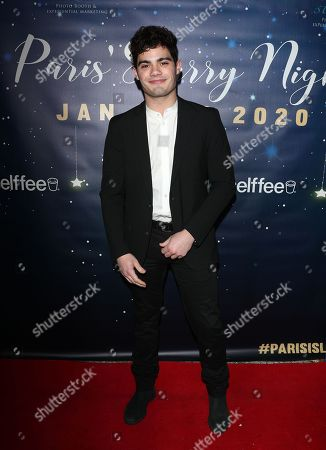 Editorial picture of Paris Berelc 'A Starry Night Prom' birthday party, Los Angeles, USA - 11 Jan 2020