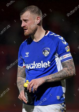 Editorial image of Stevenage v Oldham Athletic, EFL Sky Bet League Two, Football, Lamex Stadium, UK - 14 Jan 2020