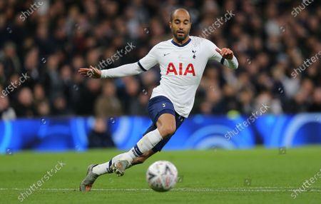Lucas Moura of Tottenham Hotspur