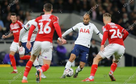 Editorial image of Tottenham Hotspur v Middlesbrough, Emirates FA Cup Third Round Replay, Football, The Tottenham Hotspur Stadium, London, UK - 14 Jan 2020