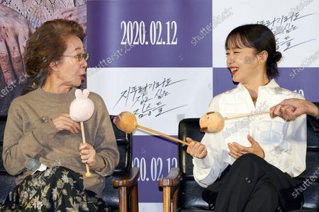 Youn Yuh-jung, Jeon Do-yeon