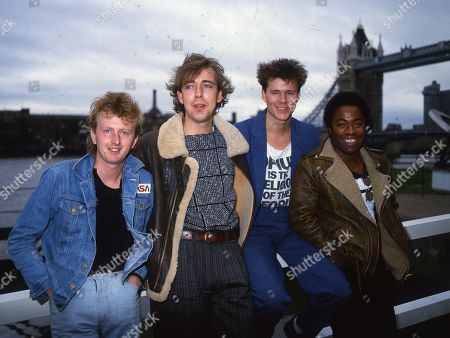 Big Country - Bruce Watson, Mark Brzezicki, Stuart Adamson and Tony Butler