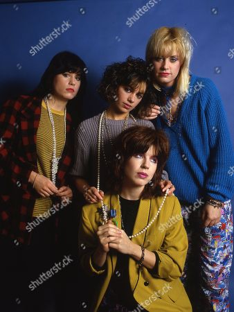 The Bangles - Vicki Peterson, Susanna Hoffs, Michael Steele and Debbi Peterson