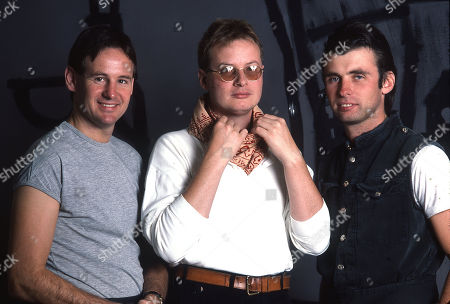 XTC - Terry Chambers, Andy Partridge and Colin Moulding