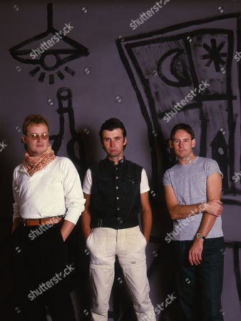 XTC - Andy Partridge, Colin Moulding and Terry Chambers
