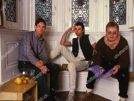 XTC - Terry Chambers, Colin Moulding and Andy Partridge