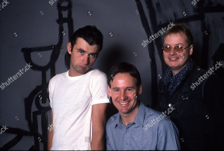 Stock Image of XTC - Colin Moulding,Terry Chambers and Andy Partridge