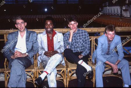 Big Country - Mark Brzezicki, Tony Butler, Stuart Adamson and Bruce Watson