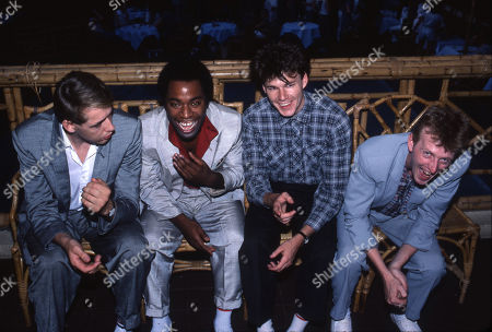 Big Country - Mark Brzezicki, Tony Butler, Stuart Adamson and Bruce Watson