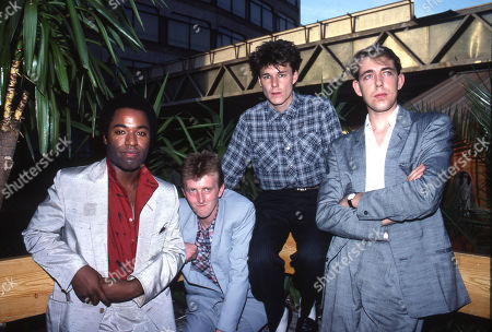 Big Country - Tony Butler, Bruce Watson, Stuart Adamson and Mark Brzezicki