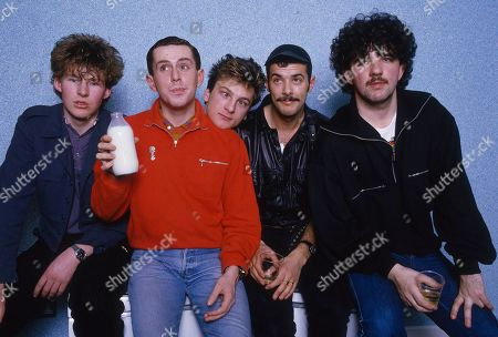 Stock Picture of Frankie Goes To Hollywood - Brian Nash, Holly Johnson, Mark O'Toole, Paul Rutherford and Peter Gill