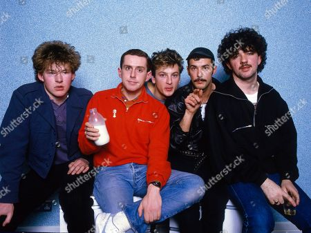 Stock Image of Frankie Goes To Hollywood - Brian Nash, Holly Johnson, Mark O'Toole, Paul Rutherford and Peter Gill