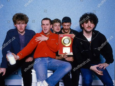 Frankie Goes To Hollywood - Brian Nash, Holly Johnson, Mark O'Toole, Paul Rutherford and Peter Gill