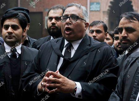 Editorial photo of Musharraf, Lahore, Pakistan - 13 Jan 2020