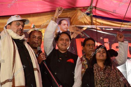 Editorial photo of CAA and NRC protest, Delhi, New Delhi, India - 12 Jan 2020
