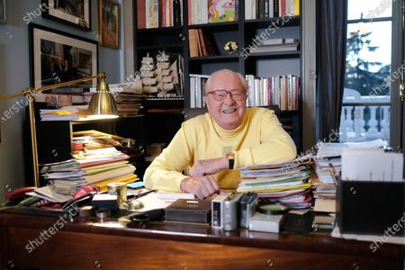 Editorial picture of Jean Marie Le Pen at his home in Paris, France - 13 Dec 2019