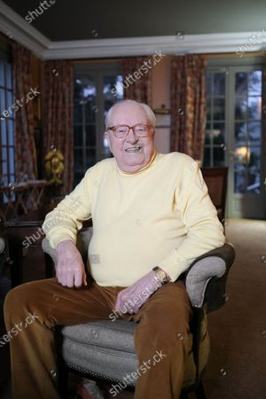 Editorial image of Jean Marie Le Pen at his home in Paris, France - 13 Dec 2019