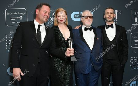Kevin Messick, Sarah Snook, Brian Cox, Jeremy Strong