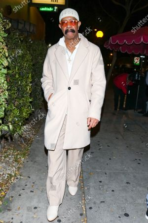 Editorial image of Dennis Graham out and about, Los Angeles, USA - 12 Jan 2020