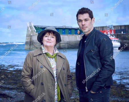 Brenda Blethyn as Vera and Kenny Doughty as DS Aiden Healy.