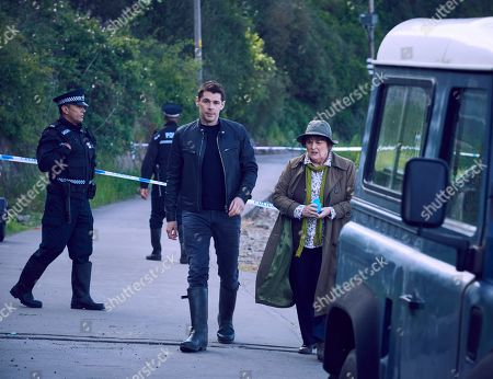 Brenda Blethyn as Vera and DS Aiden Healy.