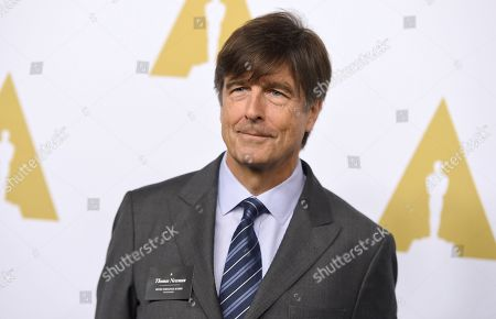 """Thomas Newman at the 89th Academy Awards Nominees Luncheon in Beverly Hills, Calif. Newman was nominated for an Oscar for best original score for his work on """"1917"""